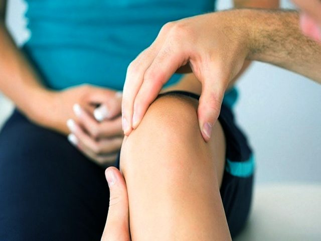 knee pain when kneeling
