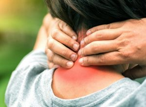 neck and lower back pain with headache